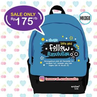 tas anak sekolah islami